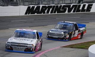 NASCAR Martinsville Truck Racing