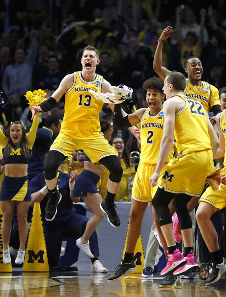 APTOPIX NCAA Texas A M Michigan Basketball