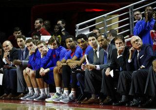 SMU Temple Basketball