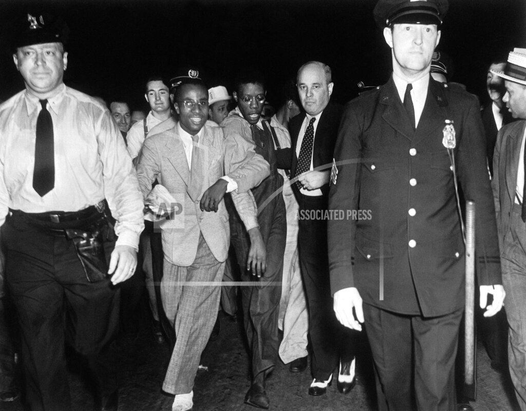 Watchf Associated Press Domestic News  New York United States APHS55361 SCOTTSBORO TRIAL