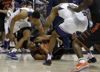 TCU Oklahoma St Basketball