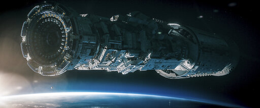 """This image released by Lionsgate shows a scene from the film """"Voyagers."""" (Lionsgate via AP)"""