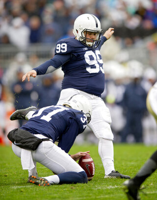 Penn St Kicker Eating Disorder Football