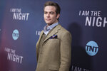 """FILE - Chris Pine attends the Los Angeles premiere of """"I Am the Night"""" on Jan. 24, 2019, in Los Angeles. Pine turns 41 on Aug. 26. (Photo by Richard Shotwell/Invision/AP, File)"""
