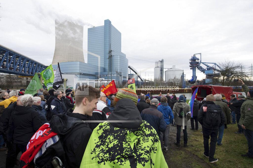Hard coal-fired power plant Datteln 4 - vigil