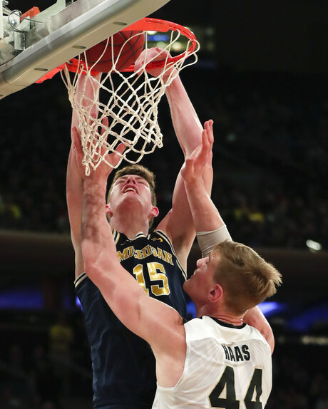 APTOPIX B10 Michigan Purdue Basketball