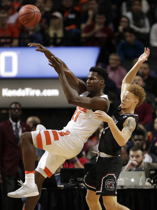 South Carolina Syracuse Basketball