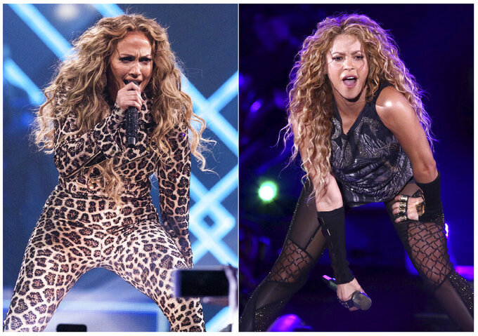 J. Lo, Shakira to perform at Super Bowl halftime show