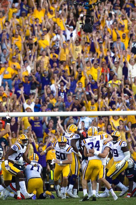 Auburn LSU Football
