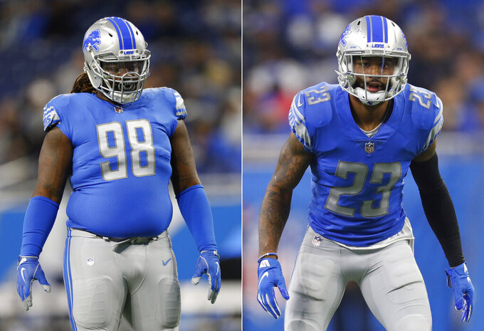 Lions start minicamp with Slay, Harrison staying away