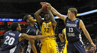 NCAA BYU Marquette Basketball