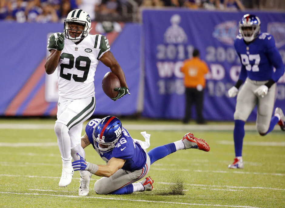Jets Giants Football
