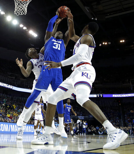 NCAA Seton Hall Kansas Basketball