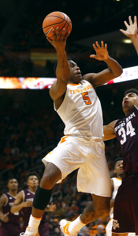 Texas A M Tennessee Basketball