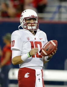 Washington St QBs Football