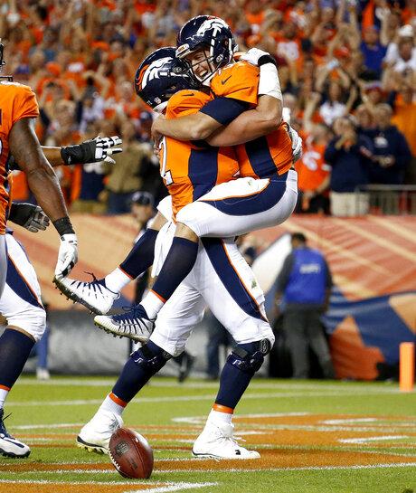 APTOPIX Chargers Broncos Football