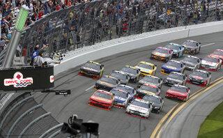 NASCAR Daytona Nationwide Auto Racing