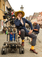 This image released by Fox Searchlight Pictures shows Writer/Director Taika Waititi on the set of