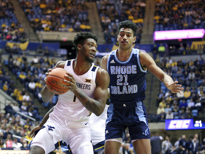 Culver's double-double helps WVU beat Rhode Island 86-81