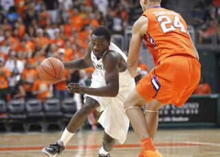 Clemson Miami Basketball