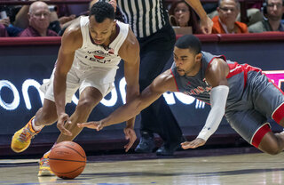 Gardner Webb Virginia Tech Basketball