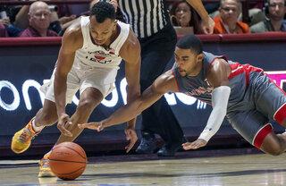 Gardner Webb Virginia Tech Basketball