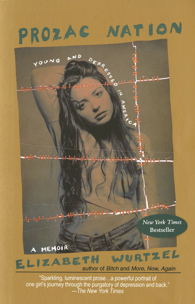 This undated photo provided by Penguin Random House shows the book cover of Elizabeth Wurtzel's memoir,