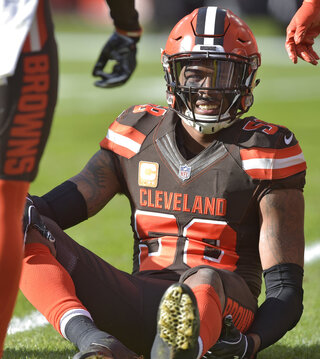 Browns-Defensive Injuries Football