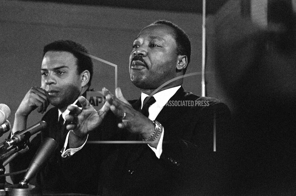 Watchf AP A  DC USA APHS348927 Dr. Martin Luther King Jr  Speaking