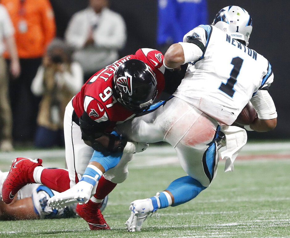 Falcons Manuel Mark Football