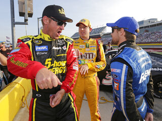 Clint Bowyer, Ricky Stenhouse Jr, Kyle Busch