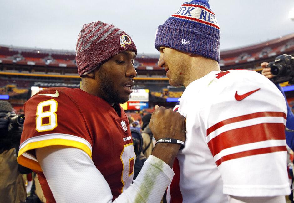 Josh Johnson, Eli Manning