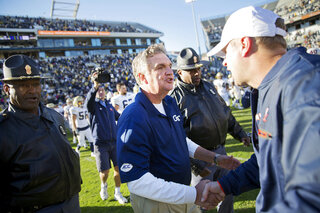 Bronco Mendenhall, Paul Johnson