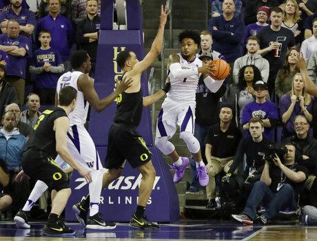 Oregon Washington Basketball