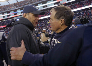 Bill Belichick, Mike Mularkey
