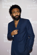 Actor/rapper Donald Glover aka Childish Gambino attends the 4th annual Diamond Ball at Cipriani Wall Street on Thursday, Sept. 13, 2018, in New York. (Photo by Evan Agostini/Invision/AP)
