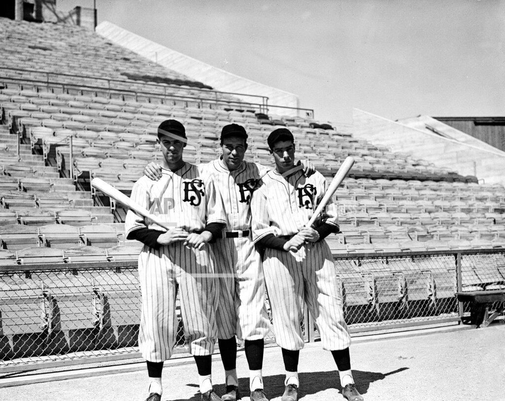 Associated Press Sports California United States Minor League Baseball SAN FRANCISCO SEALS OUTFIELDERS