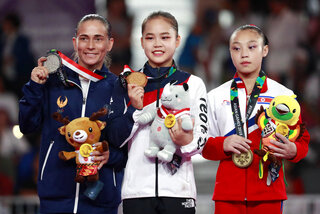 Indonesia Asian Games Gymnastics