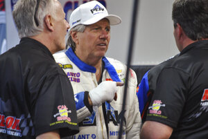 NHRA Force Troubles Auto Racing