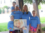A year after Dylan Emerys death, his family continues to advocate for national awareness about Krabbe disease. From left are his sister Abi, 7, brother Andrew, 10, father Matt, mother Melissa and sister Evie, 11. Matt and Melissa Emery, whose son, Dylan, died on Oct. 16, 2018 from complications of Krabbe disease, continue his legacy by supporting other families nationwide. (Adam Benson/The Index-Journal via AP)