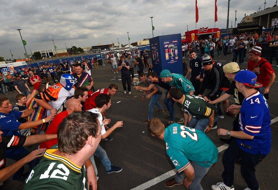 Britain Dolphins Raiders Football