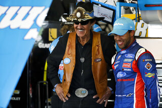 Richard Petty, Darrell Wallace Jr.