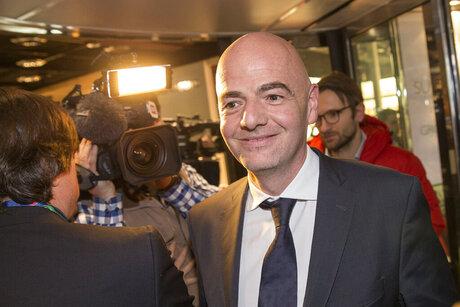 Switzerland Soccer FIFA Election