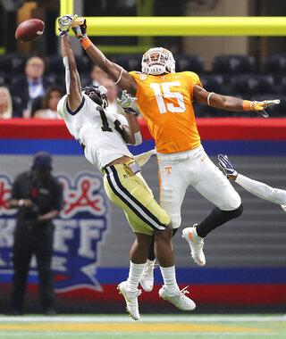 Tennessee Georgia Tech Football