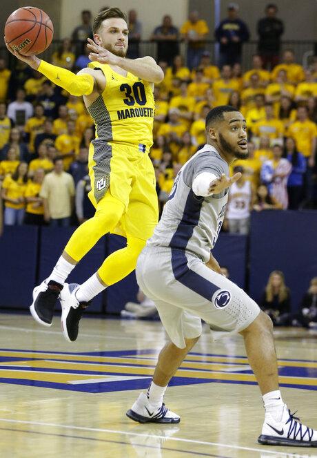 NIT Penn St Marquette Basketball