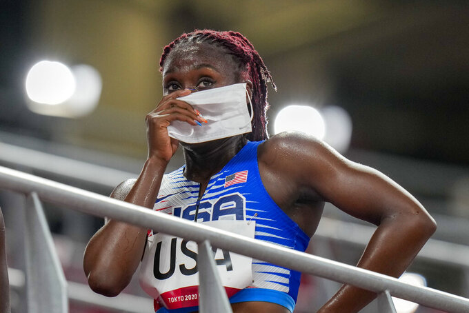 Out, then in: US gets a reprieve after mixed relay DQ