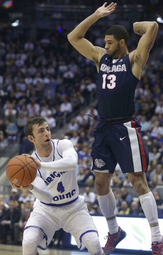Gonzaga BYU Basketball