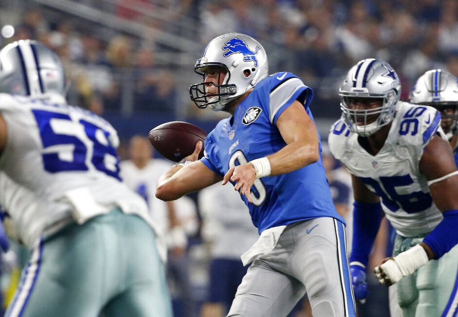 Matthew Stafford, Jack Crawford, David Irving