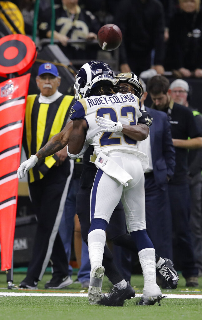 Rams' Robey-Coleman will pay NFL fine for infamous hit