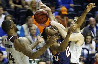 APTOPIX SEC Auburn Texas A M Basketball